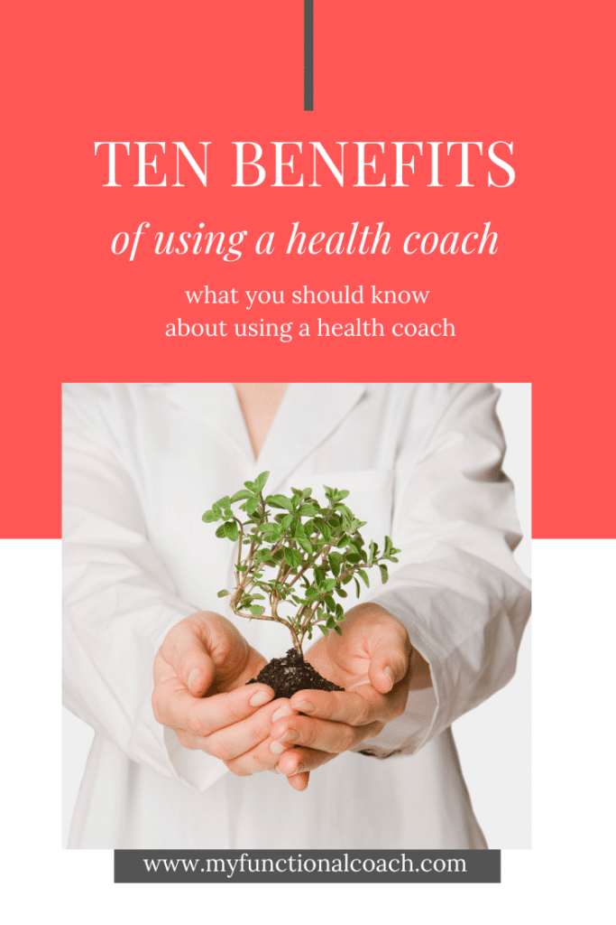 Medical provider holding a tree of life. Ten Benefits of Using a health Coach