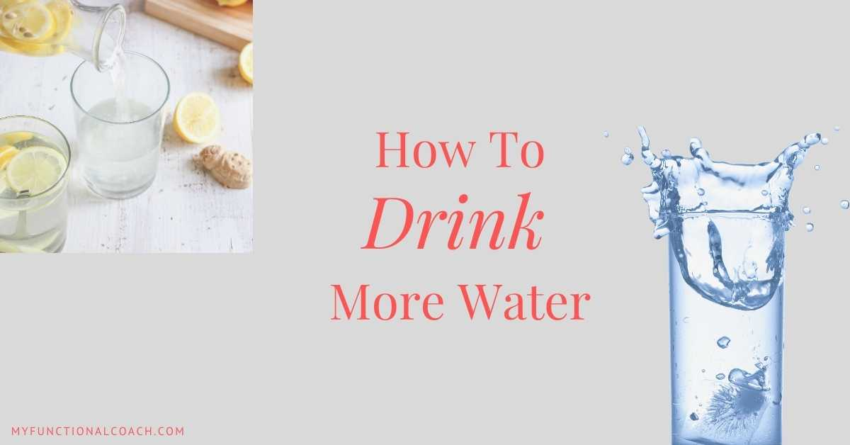 The Amazing Benefits of Drinking Water and How to Drink More of It