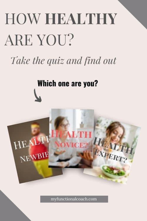 How Healthy Am I? quiz